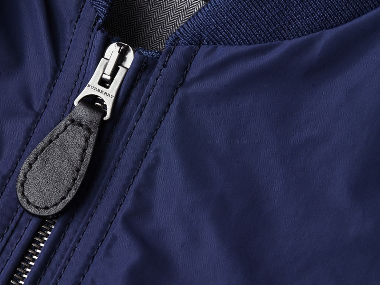 Jet blue Showerproof Bomber Jacket Jet Blue - cell image 1