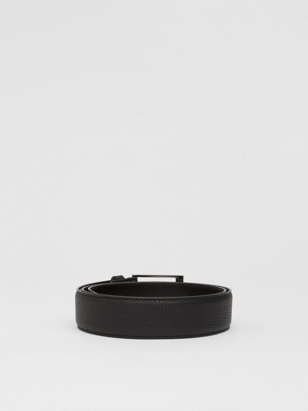 Cintura in pelle a grana (Nero) | Burberry - cell image 3