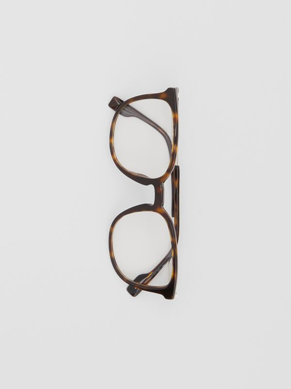 Square Optical Frames in Tortoiseshell | Burberry - cell image 2