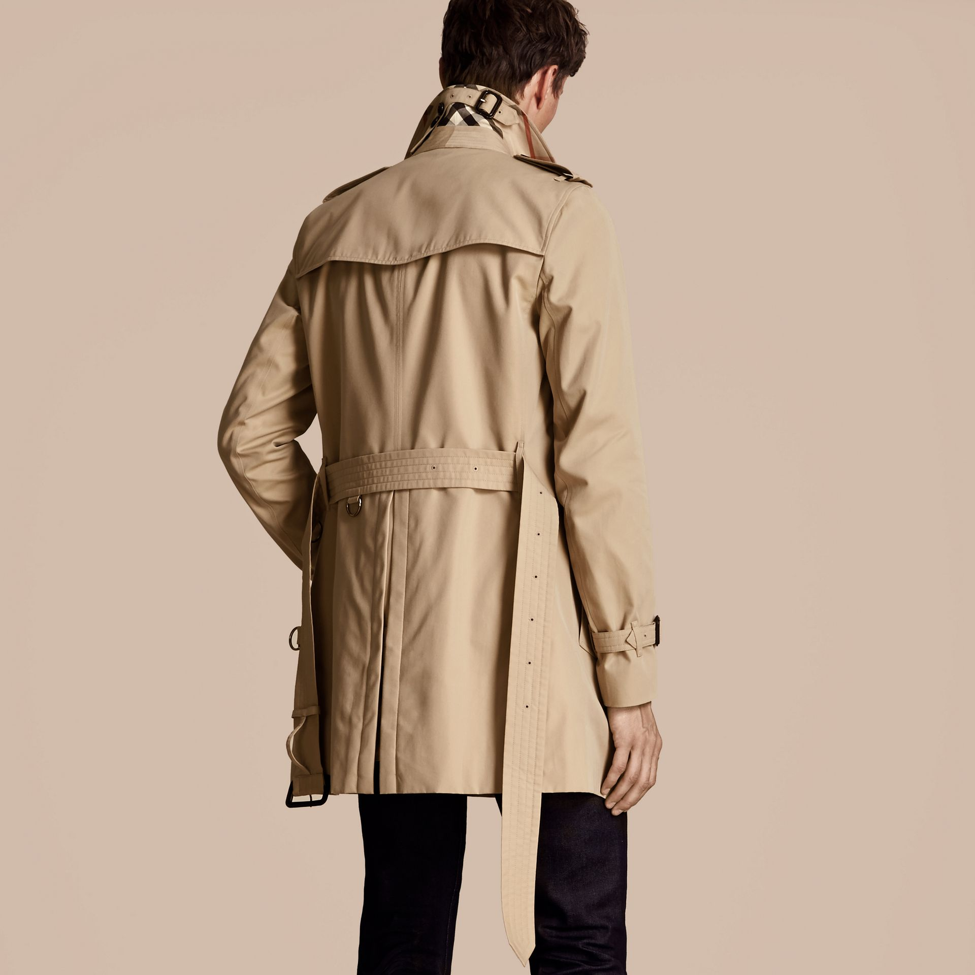 Miele The Sandringham - Trench coat Heritage medio Miele - immagine della galleria 3