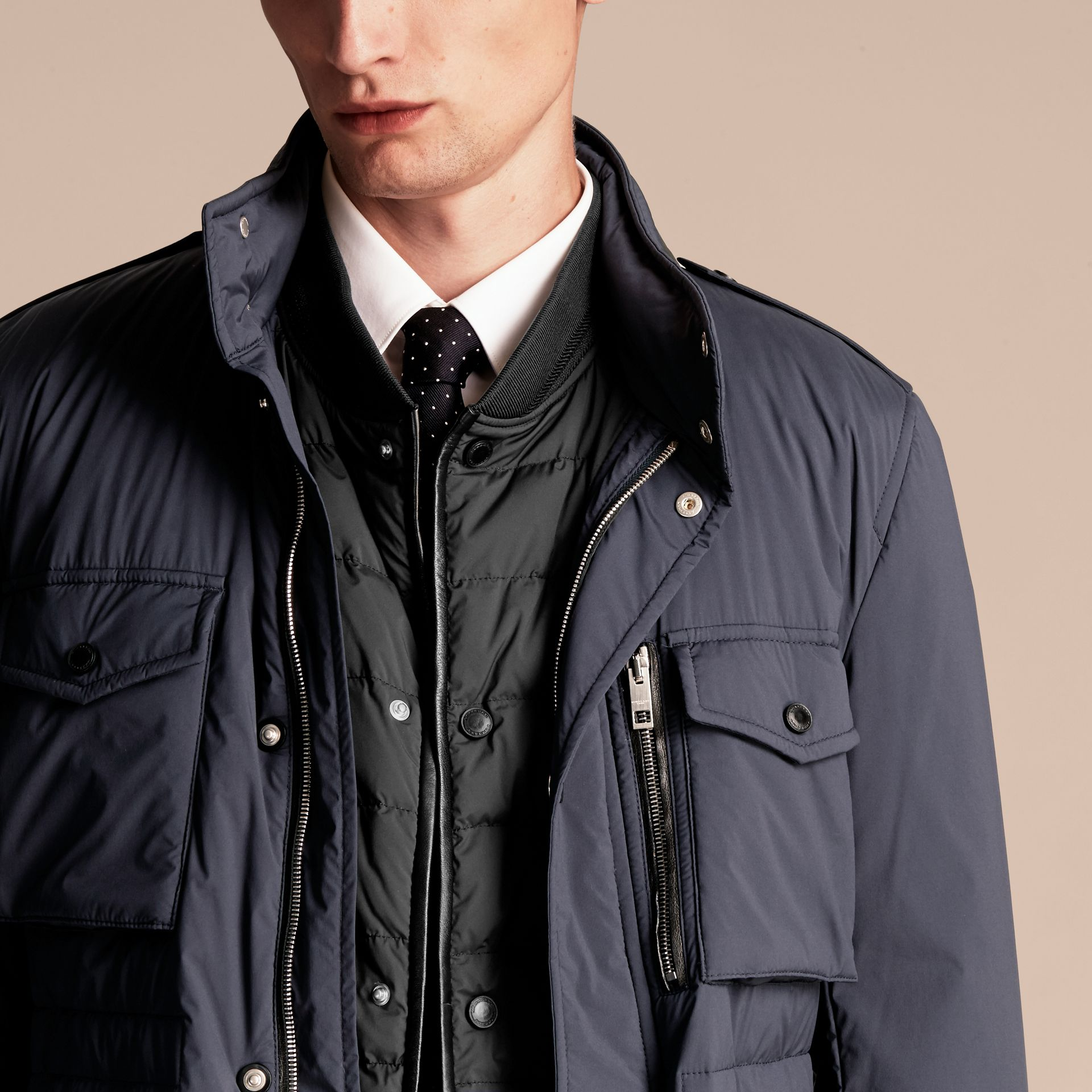 Lightweight Field Jacket with Detachable Gilet - Men | Burberry - gallery image 6