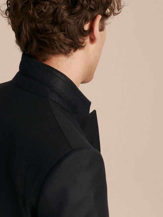 Modern Fit Tailored Wool Half-canvas Jacket - Men | Burberry - cell image 3