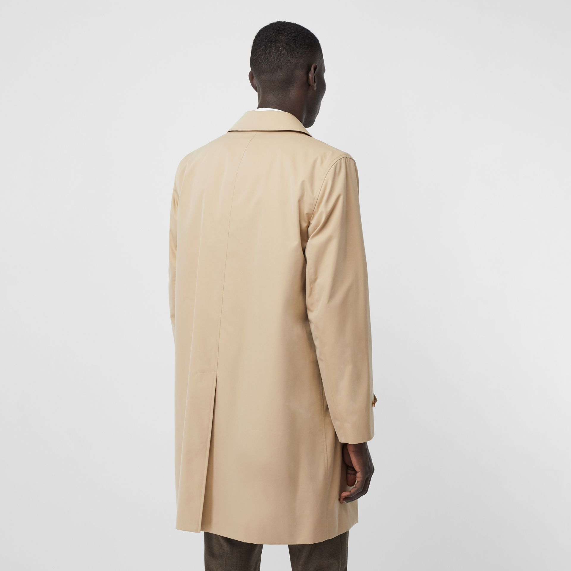 The Pimlico Heritage Car Coat in Honey - Men | Burberry United Kingdom - gallery image 6