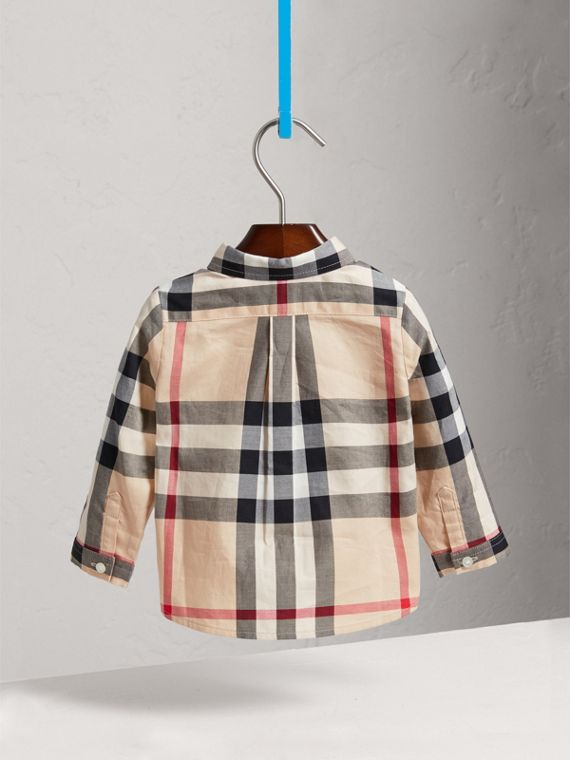 Baumwollhemd In Check (New Classic) - Jungen | Burberry - cell image 3