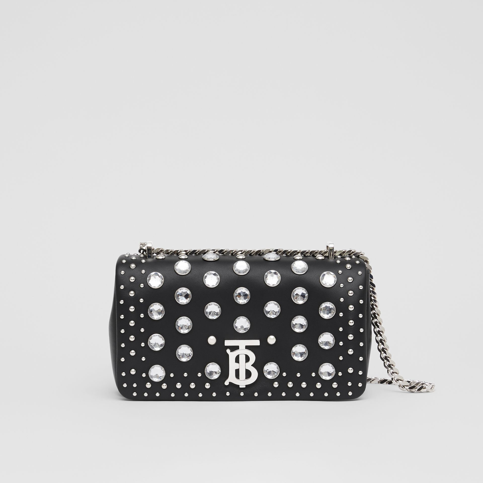 Small Embellished Lambskin Lola Bag in Black - Women | Burberry - gallery image 0