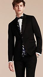 Satin Lapel Tuxedo Jacket