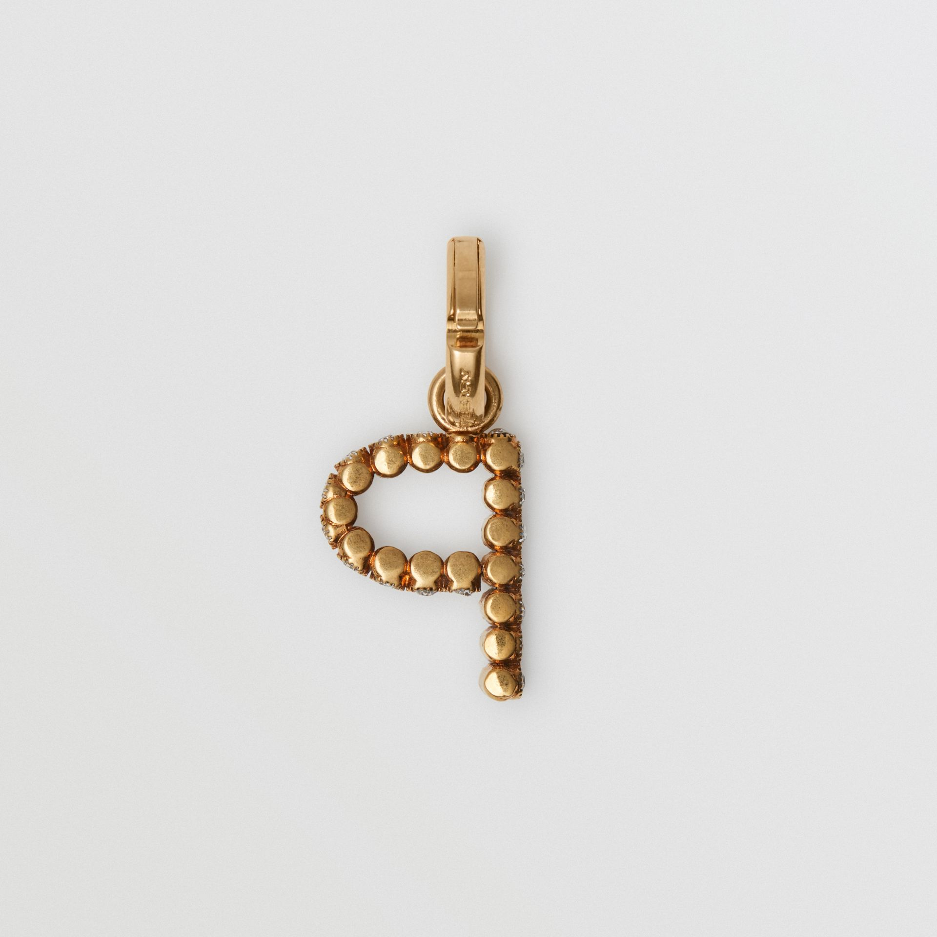 Crystal 'P' Alphabet Charm - Women | Burberry - gallery image 3