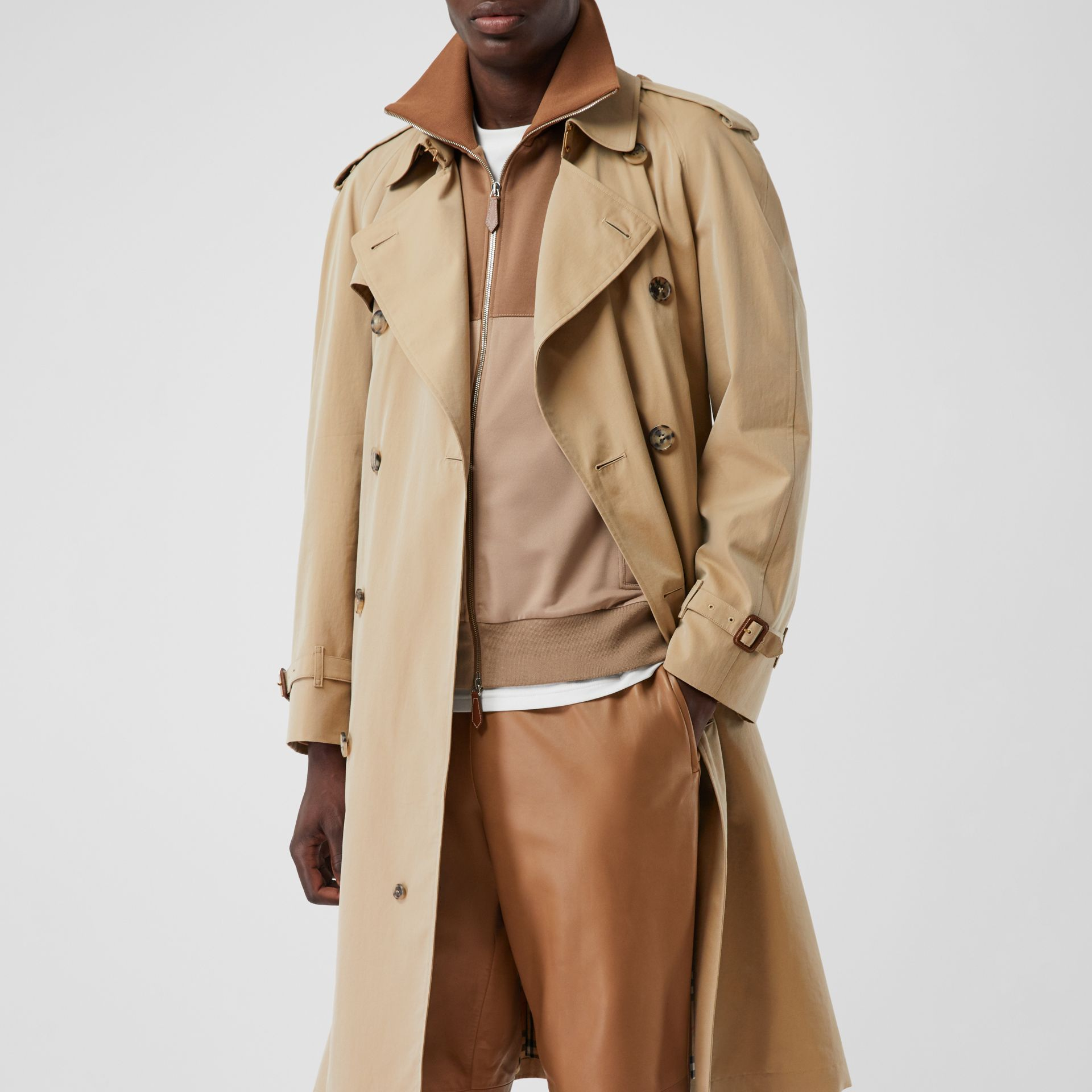 The Westminster Heritage Trench Coat in Honey - Men | Burberry Canada - gallery image 10
