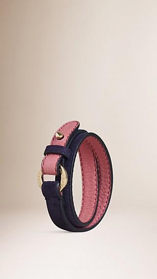 Suede Wraparound Bracelet