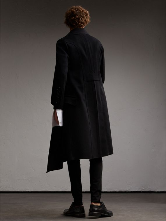 Military Wool Asymmetric Topcoat - Men | Burberry - cell image 2