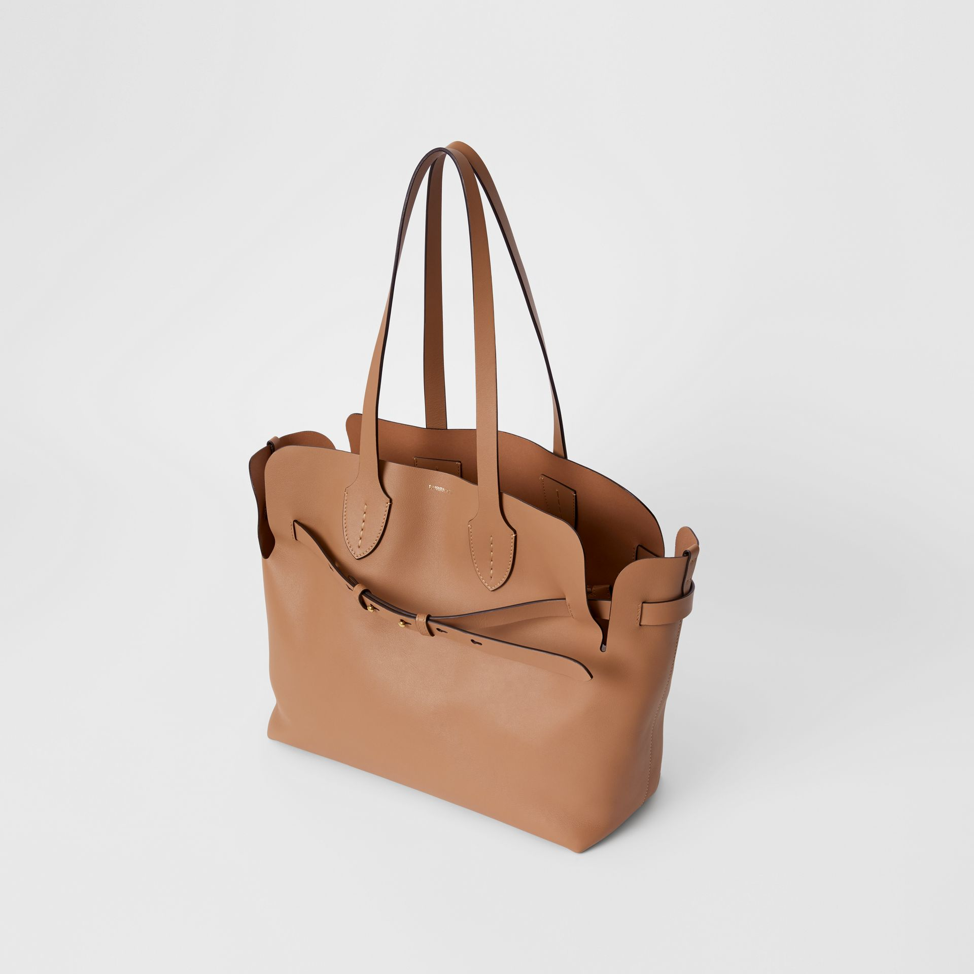 Sac The Belt moyen en cuir doux (Camel Clair) - Femme | Burberry - photo de la galerie 3
