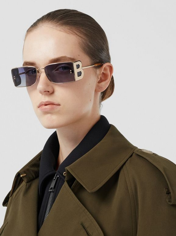 The Westminster – Trench Heritage long (Kaki Militaire Foncé) - Femme | Burberry Canada - cell image 1