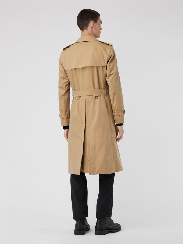 The Long Chelsea Heritage Trench Coat in Honey - Men | Burberry United Kingdom - cell image 2