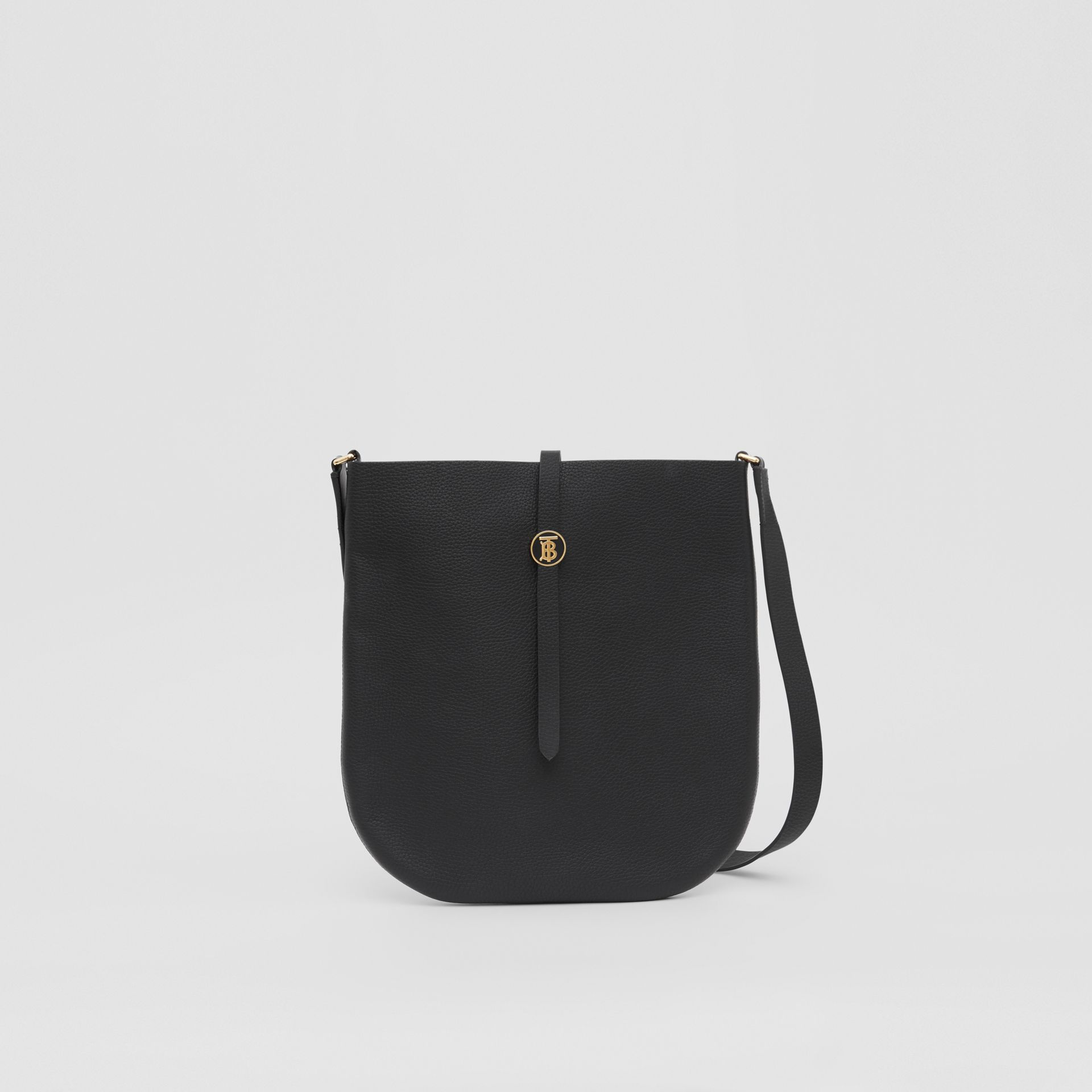 Grainy Leather Anne Bag in Black - Women   Burberry United Kingdom - gallery image 0