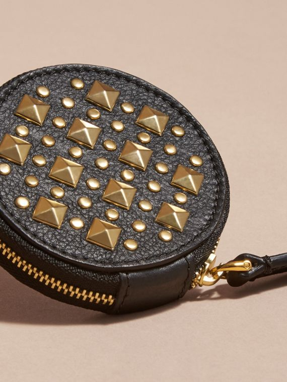 Studded Leather Coin Case - cell image 2