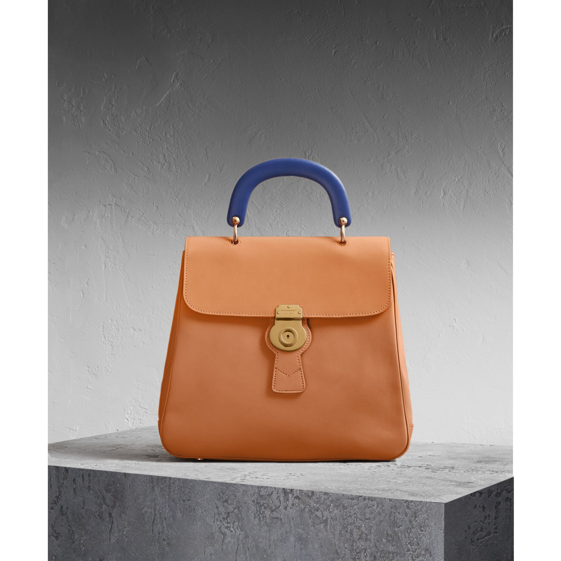 The Large DK88 Top Handle Bag Bright Toffee - gallery image 1