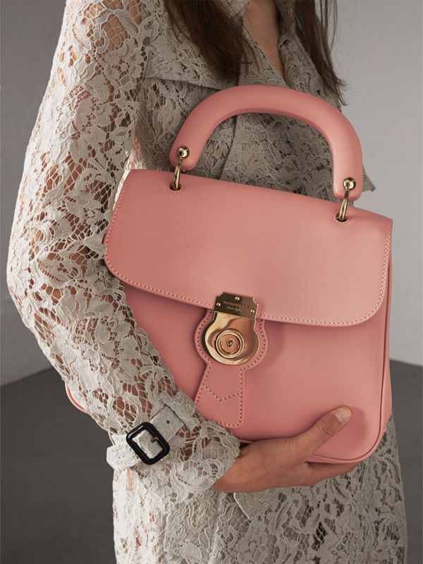 The Medium DK88 Top Handle Bag in Ash Rose - Women | Burberry - cell image 3