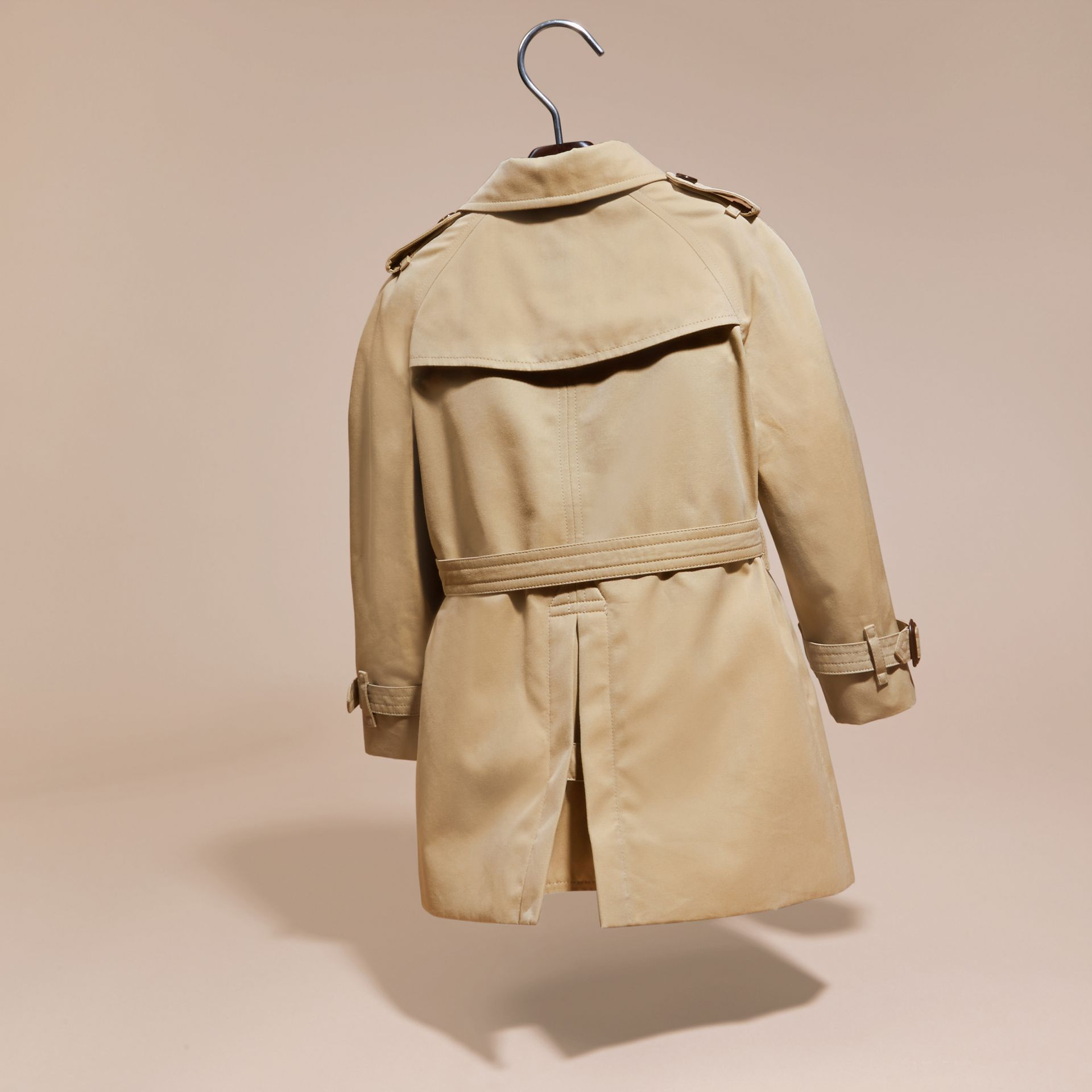 Honey The Wiltshire – Heritage Trench Coat Honey - gallery image 4