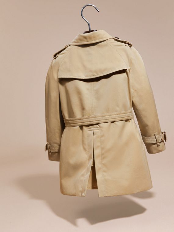 Miel Trench coat Wiltshire - Trench coat Heritage Miel - cell image 3