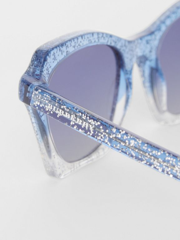 Butterfly-Sonnenbrille (Blau) - Damen | Burberry - cell image 1