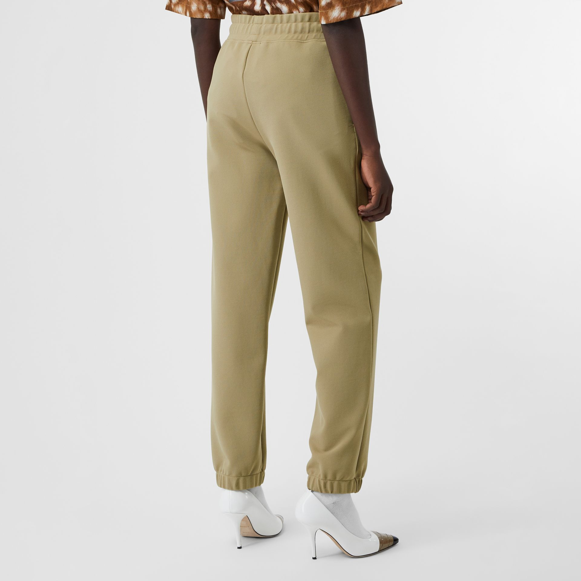 Monogram Motif Technical Trackpants in Camel - Women | Burberry - gallery image 2