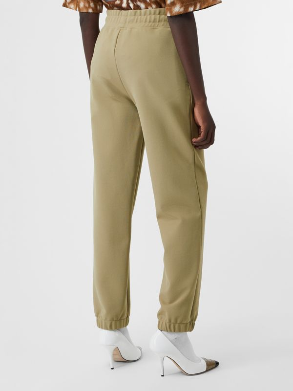 Monogram Motif Technical Trackpants in Camel - Women | Burberry - cell image 2