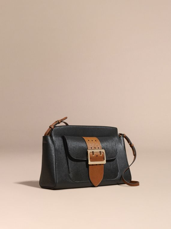 The Saddle Clutch in Textured Bonded Leather