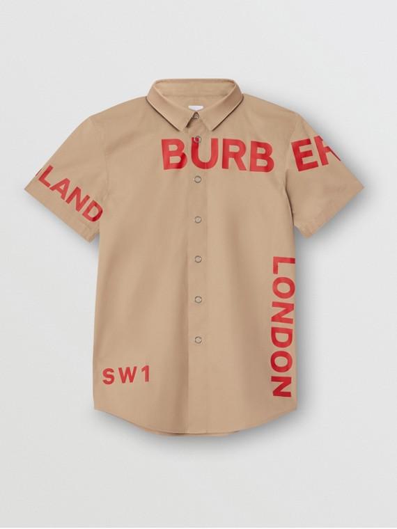 Рубашка с принтом Horseferry (Медовый)