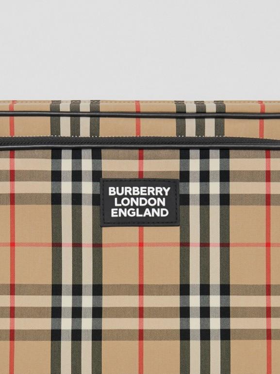 Vintage Check Cotton Messenger Bag in Archive Beige - Men | Burberry - cell image 1