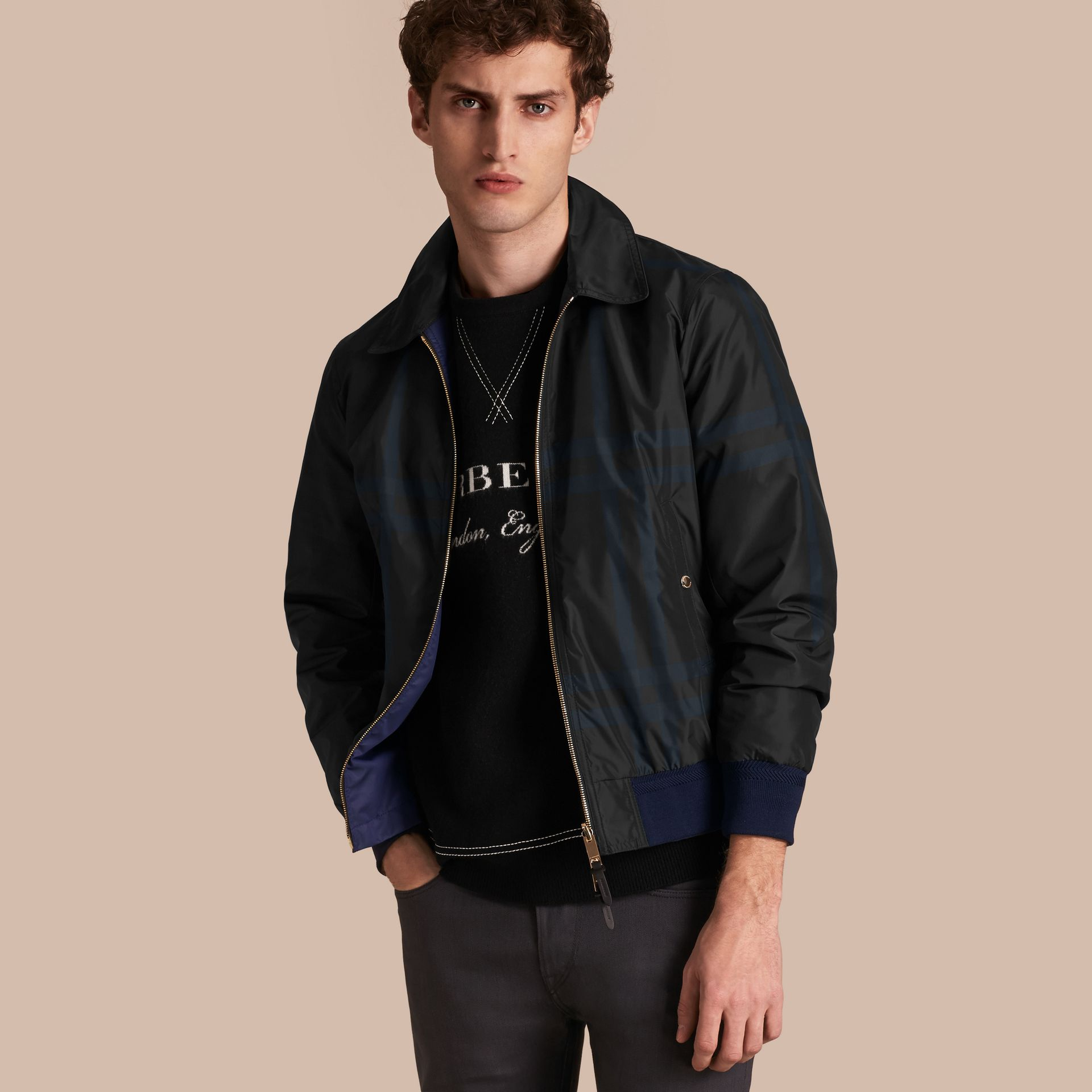 Reversible Technical Bomber Jacket - gallery image 1