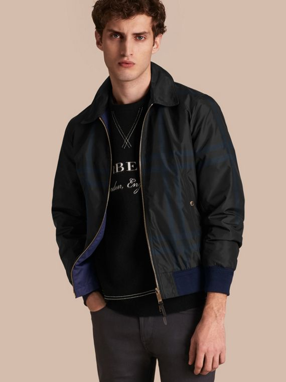Reversible Technical Bomber Jacket