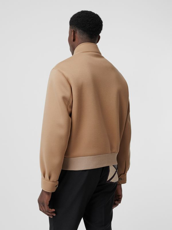 Neoprene Harrington Jacket in Beige | Burberry United Kingdom - cell image 2