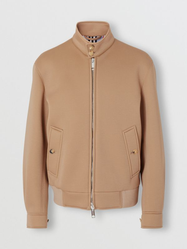 Neoprene Harrington Jacket in Beige | Burberry United Kingdom - cell image 3