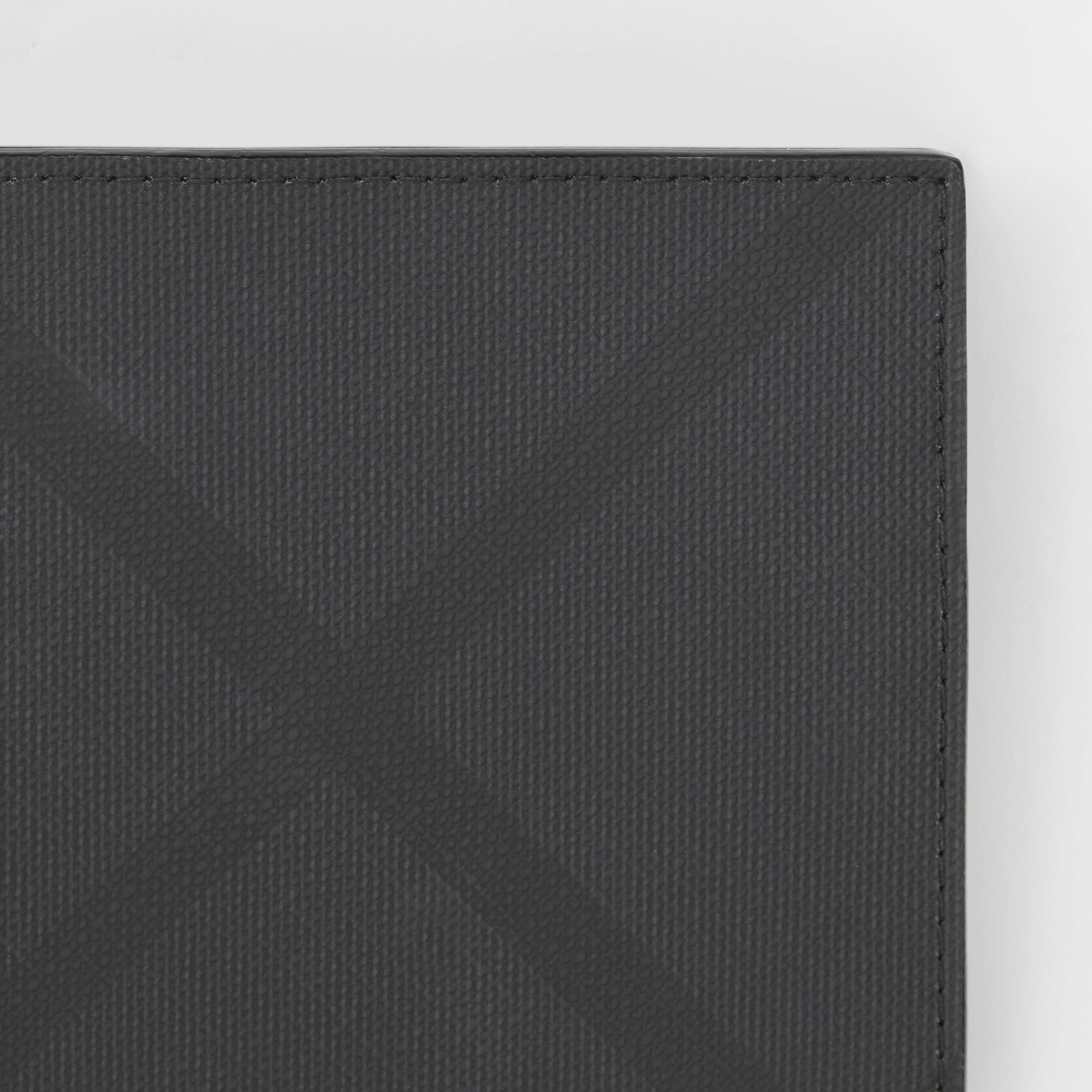 London Check International Bifold Coin Wallet in Dark Charcoal - Men | Burberry United States - 2