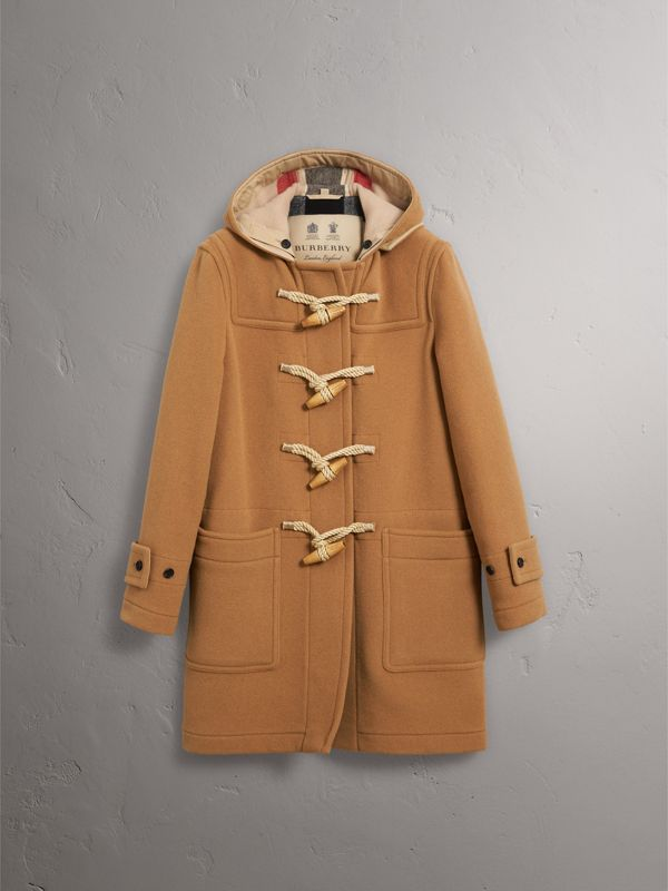 The Greenwich Duffle Coat in Mid Camel - Men | Burberry - cell image 3
