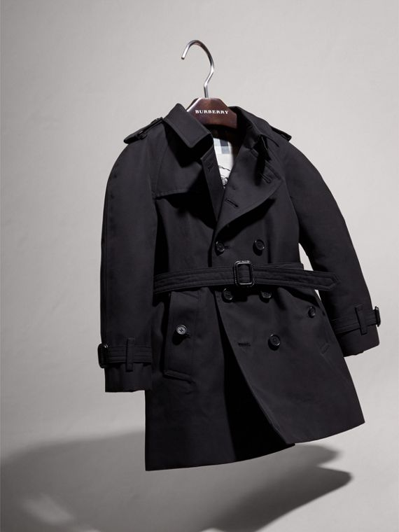 The Wiltshire – Heritage Trench Coat in Navy | Burberry Australia - cell image 2