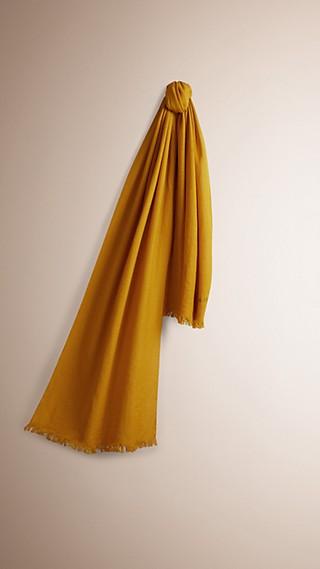 Lightweight Wool Cashmere Scarf