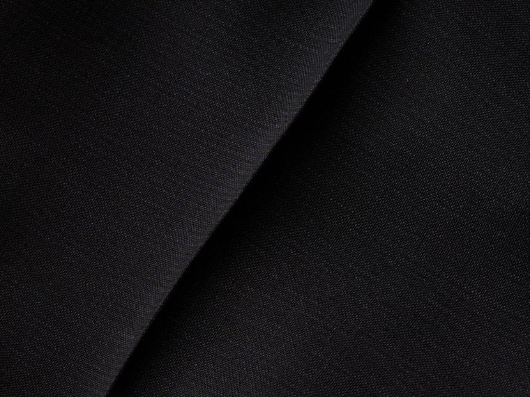 Blu peltro Pantaloni a fondo ampio in misto mohair e lana - cell image 1
