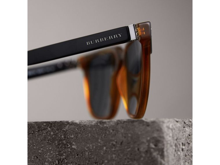 Square Frame Sunglasses - Men | Burberry - cell image 1