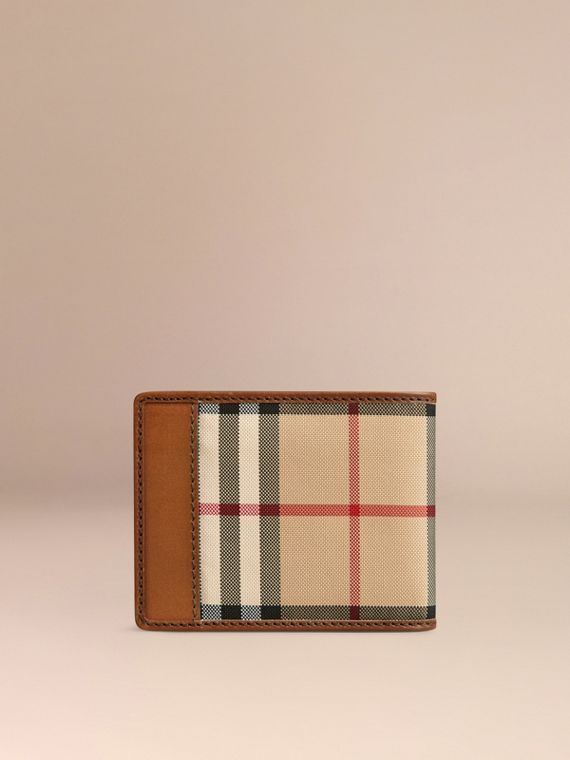 Horseferry Check Wallet Tan - cell image 2