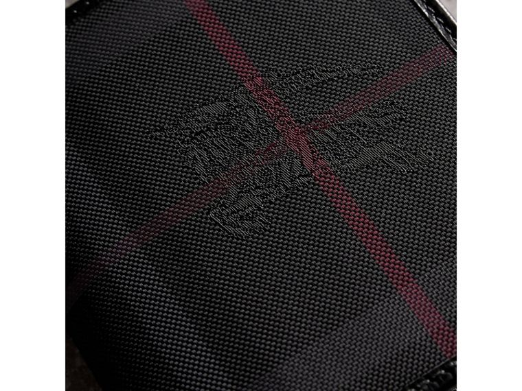 Horseferry Check ID Wallet in Charcoal/black - Men | Burberry - cell image 1