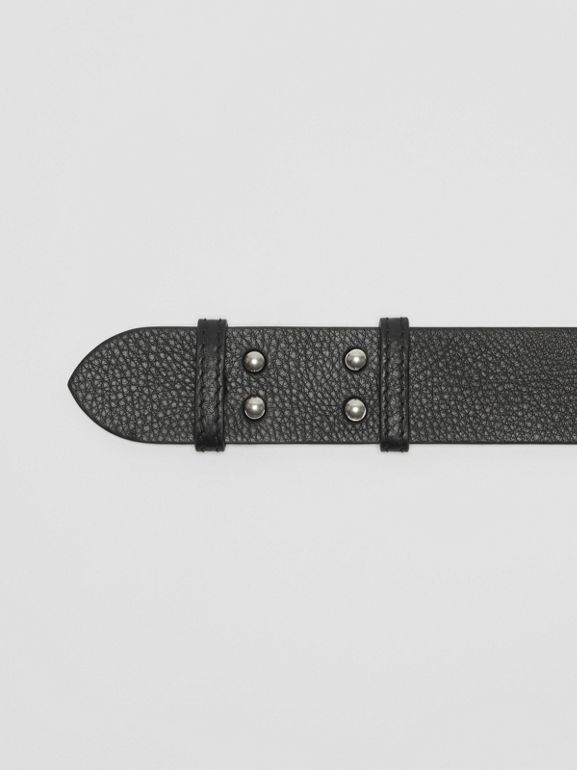 The Small Belt Bag Grainy Leather Belt in Black - Women | Burberry - cell image 1