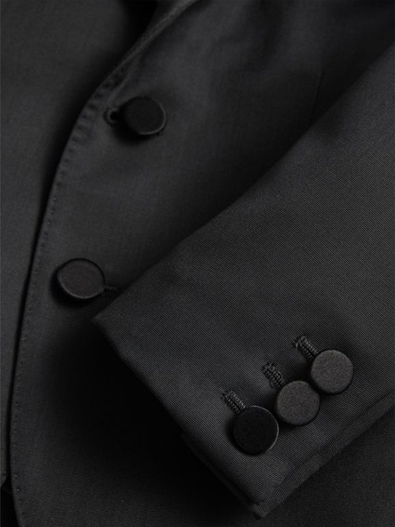 Wool Tuxedo Jacket in Black | Burberry - cell image 1