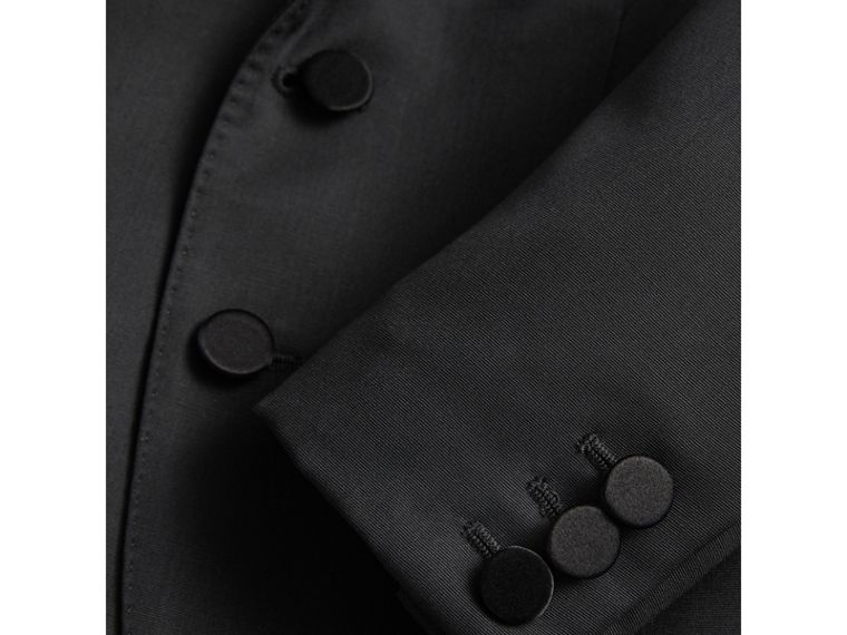 Wool Tuxedo Jacket in Black - Boy | Burberry United Kingdom - cell image 1