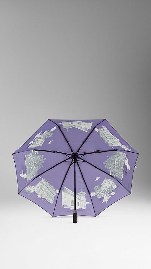 Amethyst Milan Landmarks Folding Umbrella - Image 2