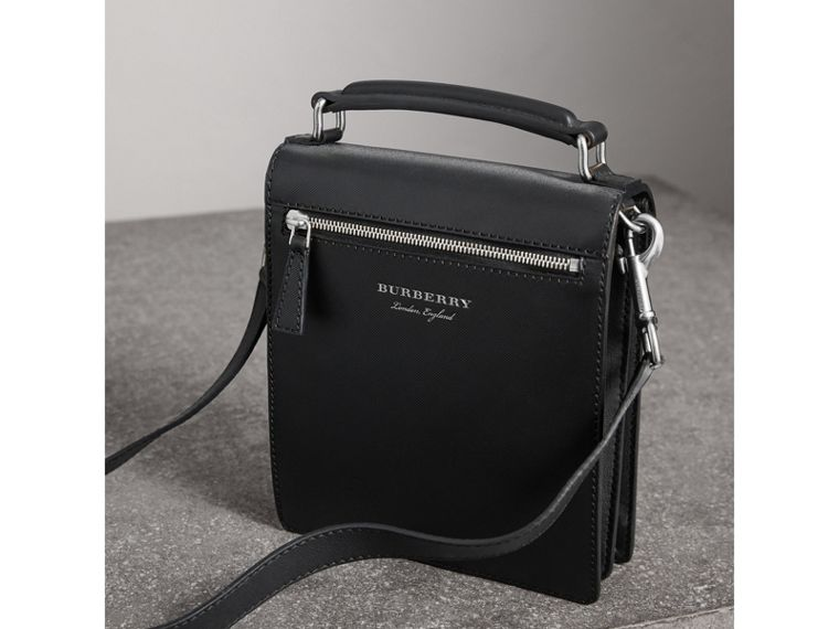 The Small DK88 Satchel in Black - Men | Burberry Australia - cell image 4