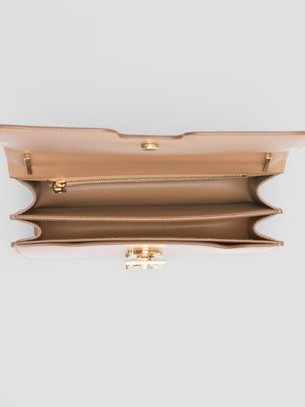 Medium Leather TB Bag in Light Camel - Women | Burberry United Kingdom - cell image 2