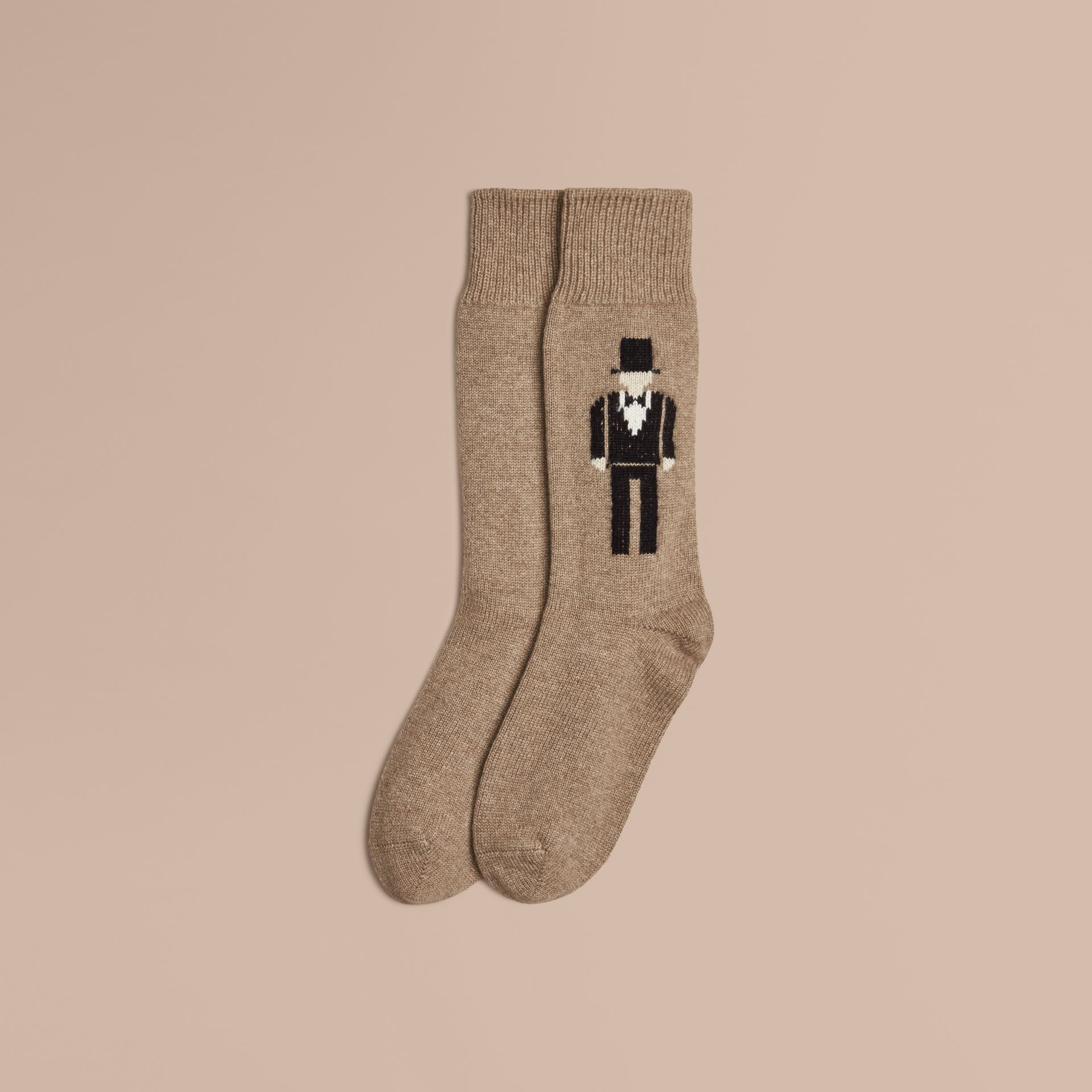 Camel The Dancer Cashmere Socks - gallery image 1