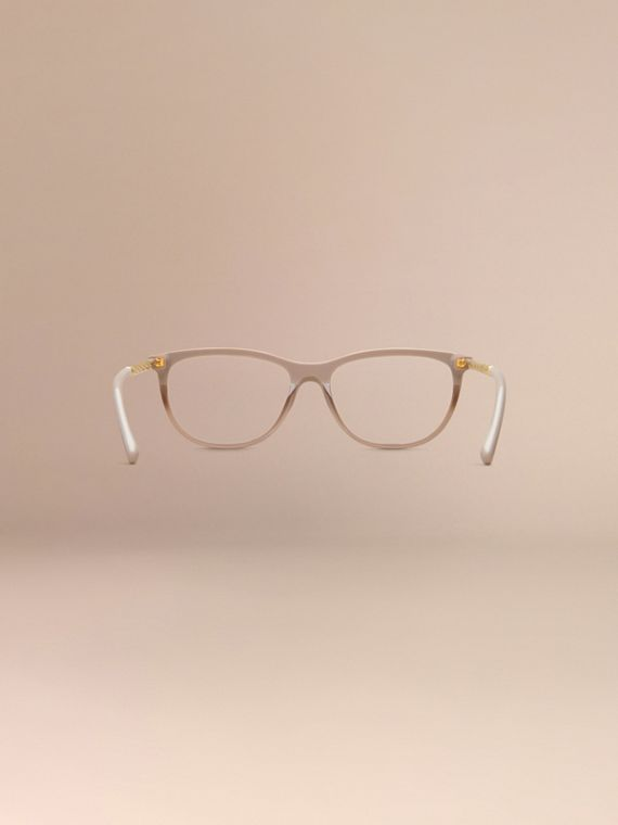 Honey Gabardine Collection Cat-Eye Optical Frames Honey - cell image 3