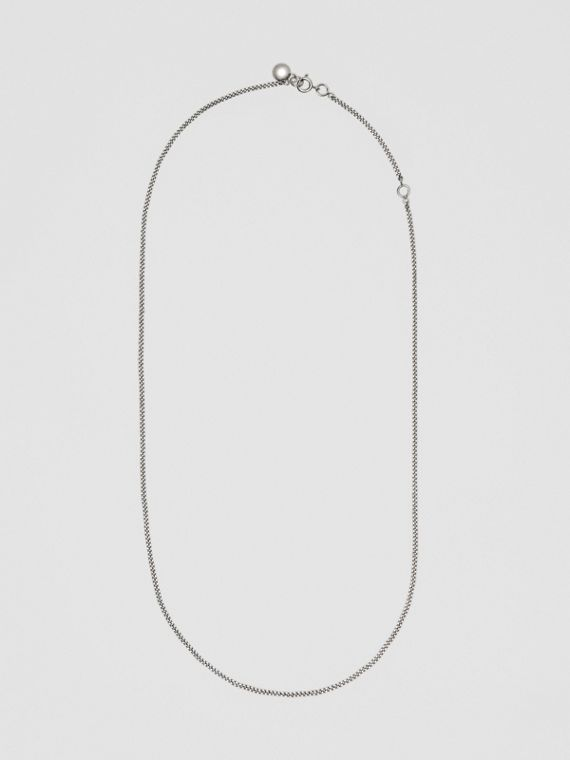 Palladium-plated Chain Necklace in Palladio